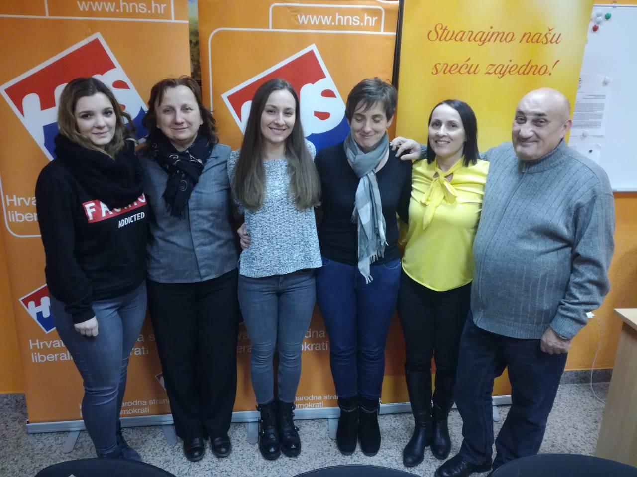 Vesna Jelić je izabrana za novu predsjednicu ŽI HNS-a Krapina