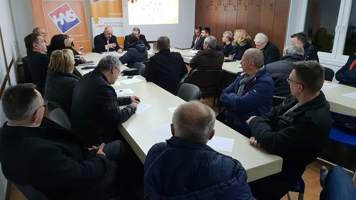 Radni sastanak Izbornog stožera III. izborne jedinice