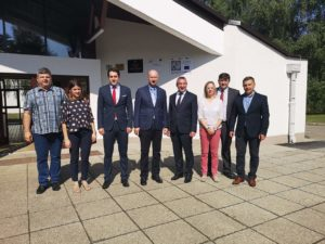 Potpredsjednik Vlade Predrag Štromar obišao OŠ Janka Leskovara u Pregradi