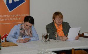 Đurđica Labaš je ponovno predsjednica ŽI HNS-a Gornja Stubica