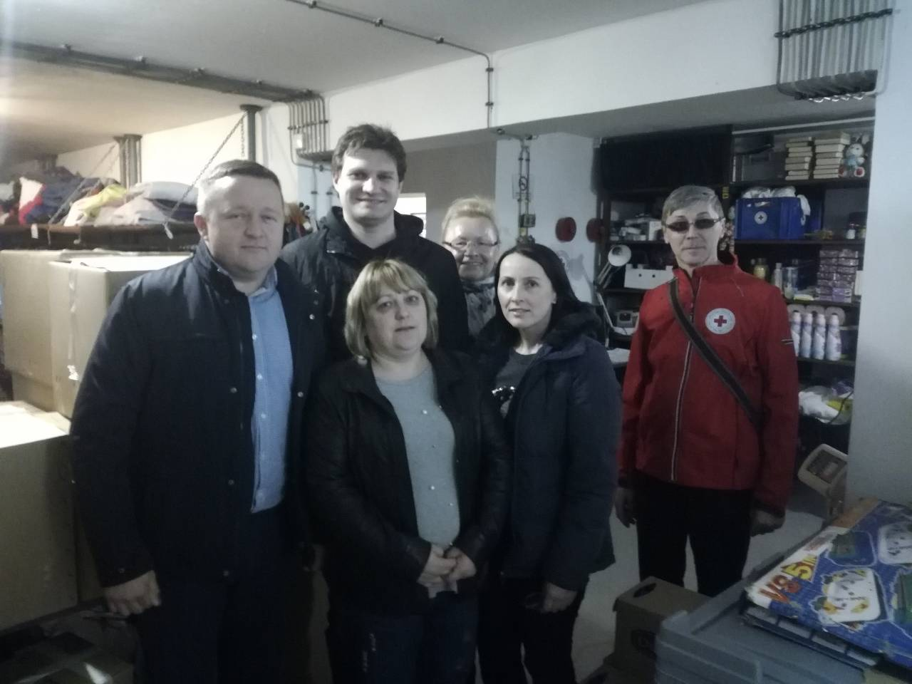 Pomoć zagorskog HNS-a za Hrvatsku Kostajnicu