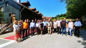 Druženje članova s potpredsjednikom Vlade i ministrom Predragom Štromarom