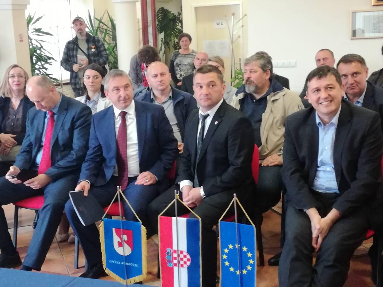 Potpredsjednik Vlade RH i ministar graditeljstva i prostornog uređenja Predrag Štromar posjetio Kumrovec