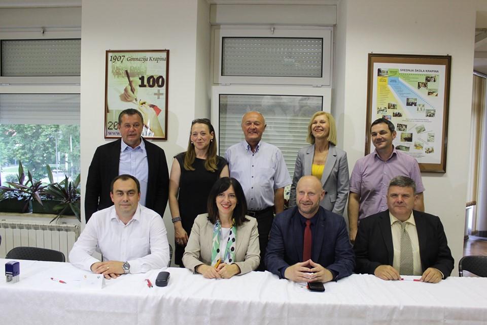 Ministrica Divjak potpisala ugovore o prijenosu osnivačkih prava za krapinsko veleučilište